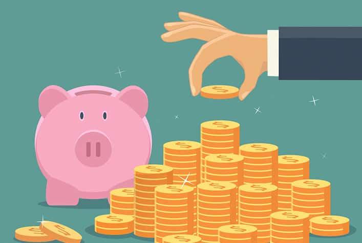 Att spara är grunden för en bra privatekonomi