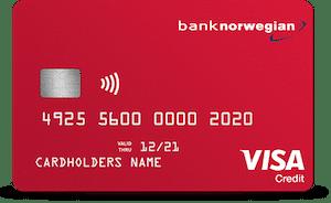 Bank Norwegian Visa - bästa kortet för dig som gillar att resa!
